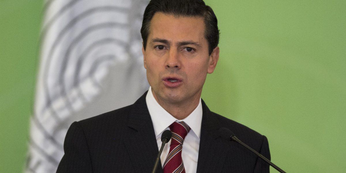 Reconoce Peña Nieto labor del Estado Mayor Presidencial