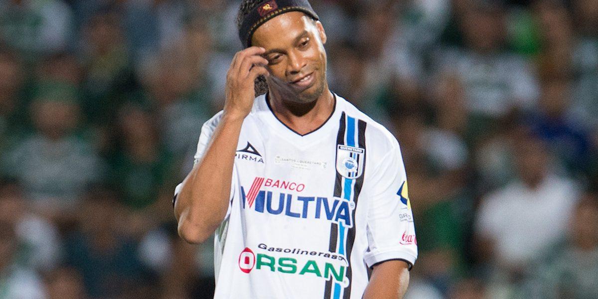 Ronaldinho se puso nostálgico: