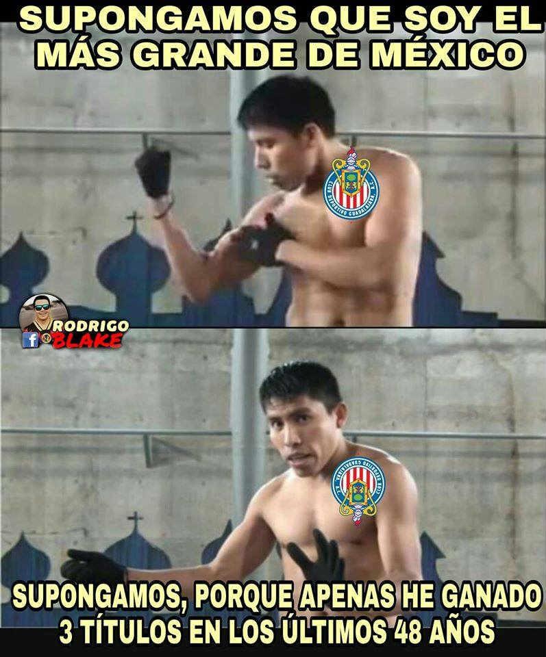 Aquí te dejamos los memes más divertidos del duelo en el Estadio Chivas entre los equipos más populares de México.