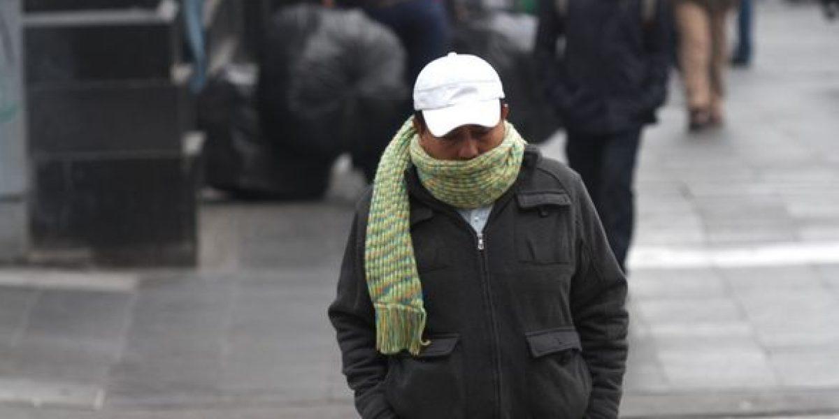 Prevén ambiente frío en la mayor parte del país este domingo
