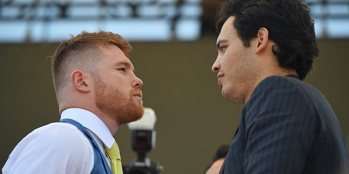 """""""Canelo"""" Álvarez y Chávez Jr. se vieron las caras por primera vez previo a su pelea"""