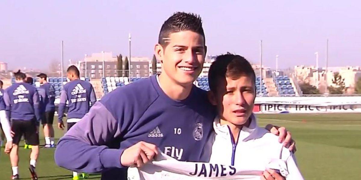 "VIDEO: Real Madrid cumple sueño de ""niño ángel"" de Chapecoense"