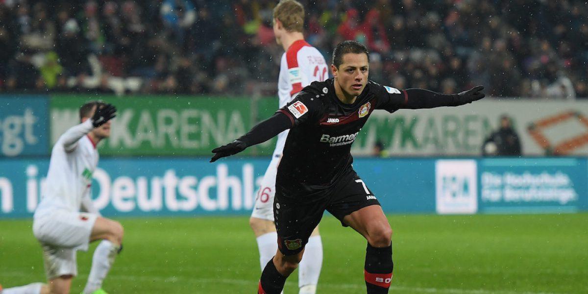 Chicharito es nombrado MVP en la Bundesliga por segunda jornada consecutiva