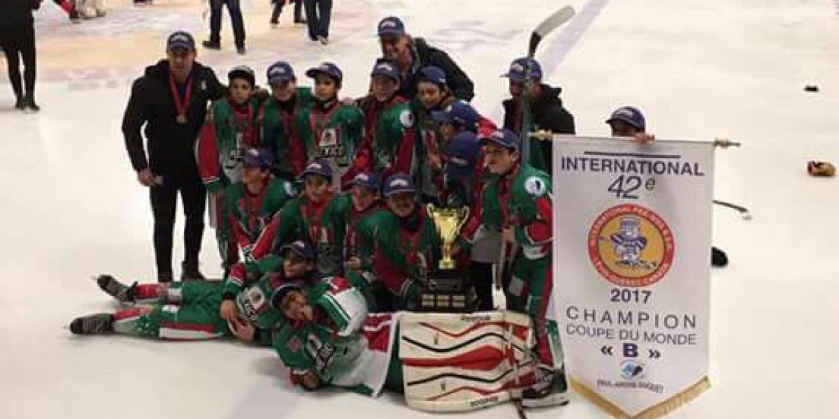 ¡Histórico! México gana a Canadá y es campeón de hockey sobre hielo