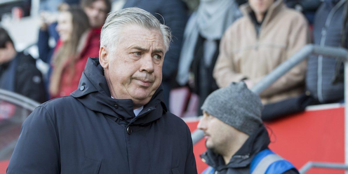 Carlo Ancelotti dona cinco mil euros tras su gesto obsceno