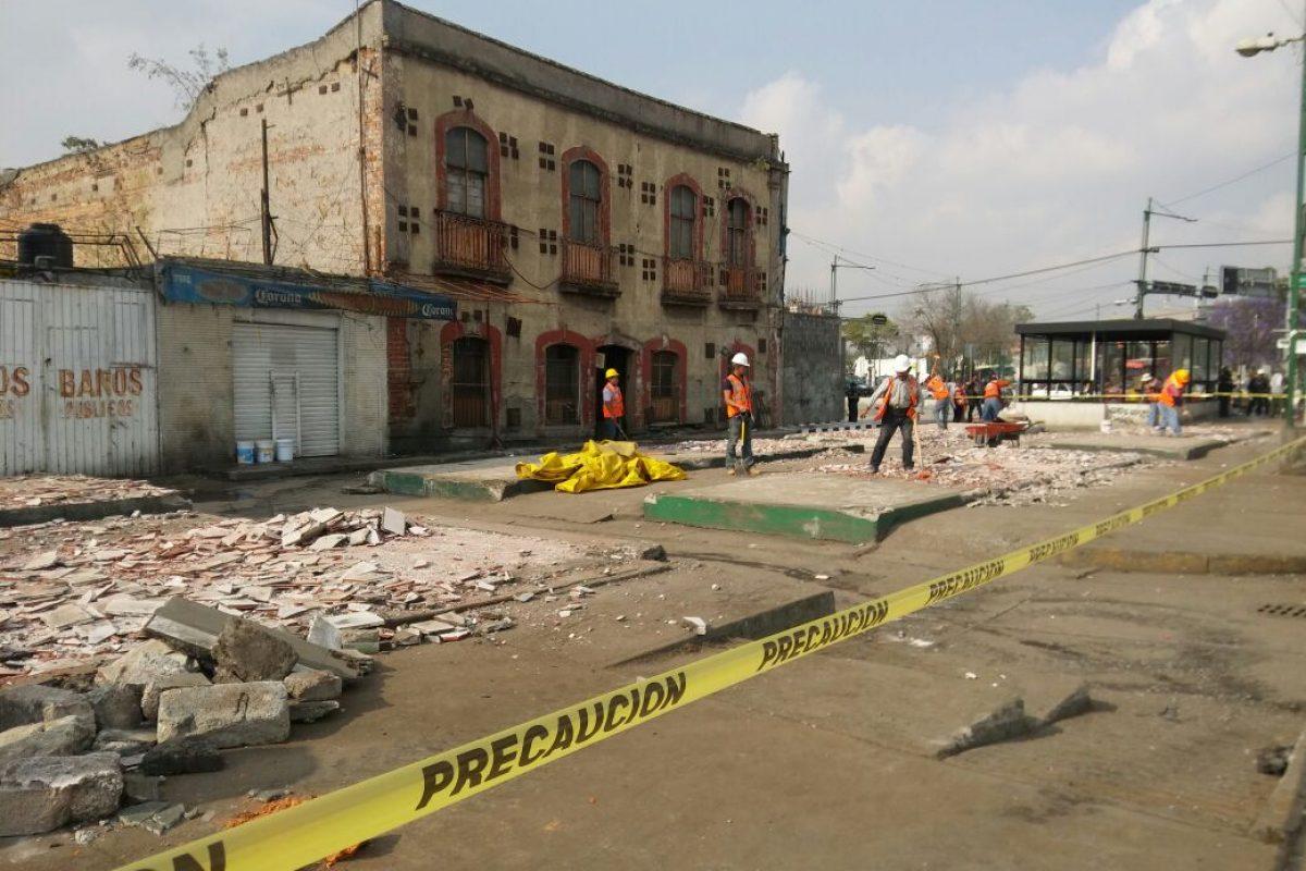 Retiran puestos en vía pública en La Lagunilla. Imagen Por: Fotos: Cortesía