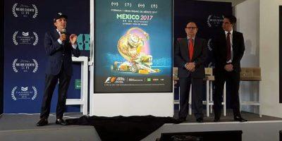Revelan póster del Gran Premio de México 2017