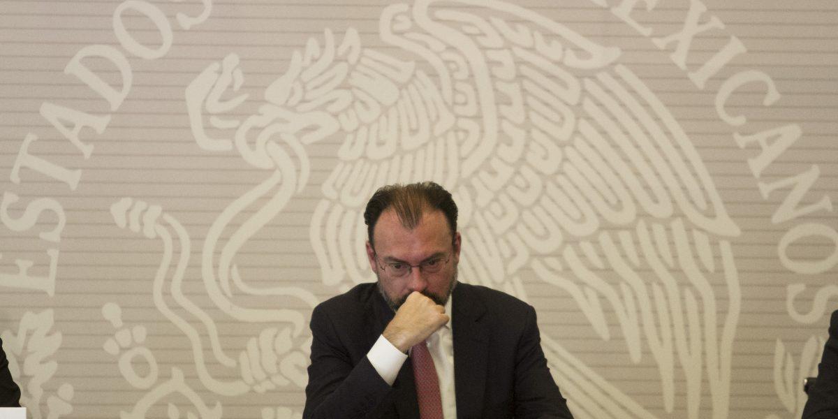 Así será la comparecencia de Luis Videgaray ante el Senado