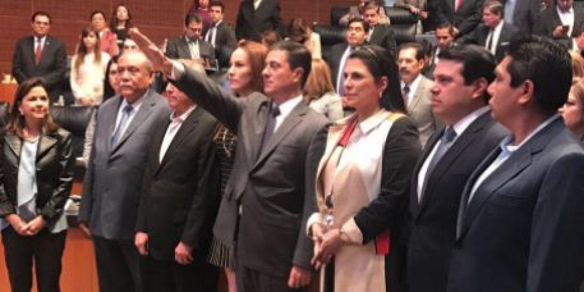 Gerónimo Gutiérrez rinde protesta como nuevo embajador en EU