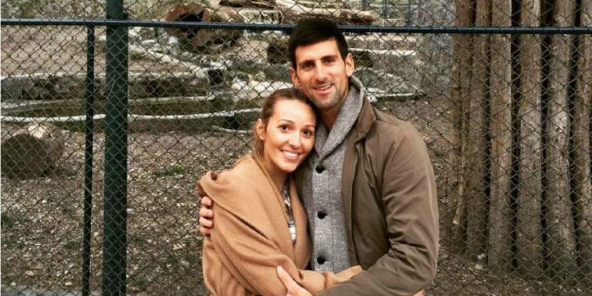 VIDEO: Novak Djokovic transmite por error una discusión con su mujer
