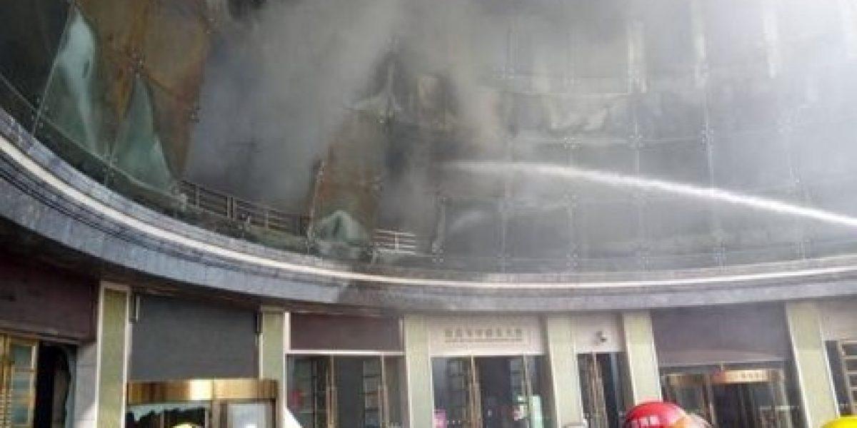 Incendio en hotel de China deja 10 muertos y una docena de heridos