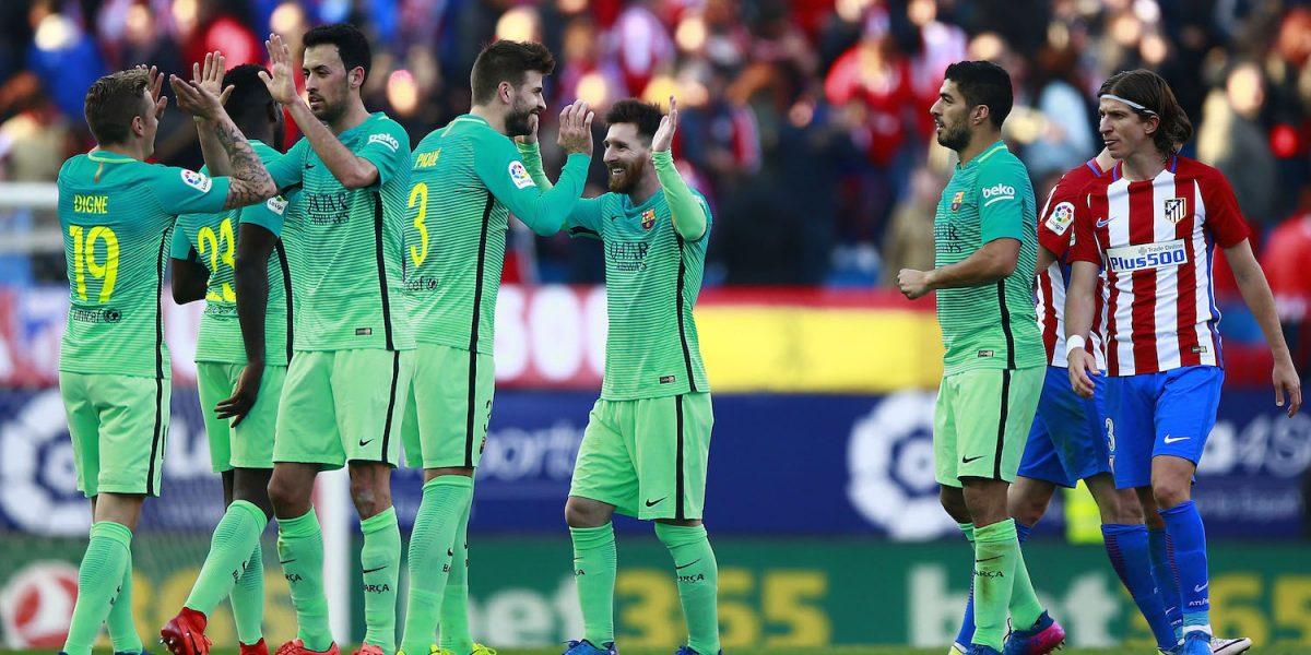 Barcelona se impone al Atleti con gol de Messi