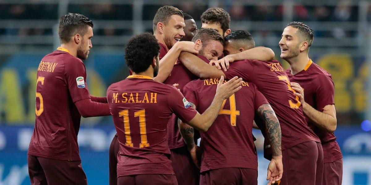 La Roma se afianza como segundo de la Serie A al vencer al Inter