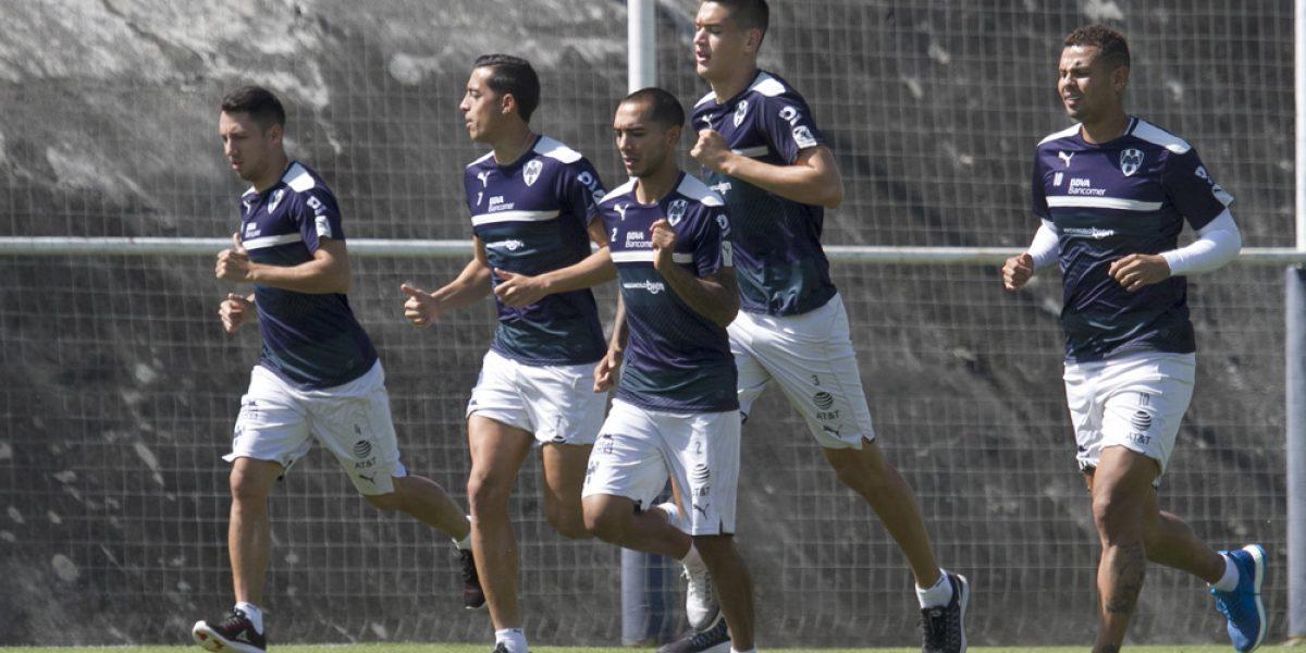 Retoma Rayados entrenamientos tras caída en Tijuana