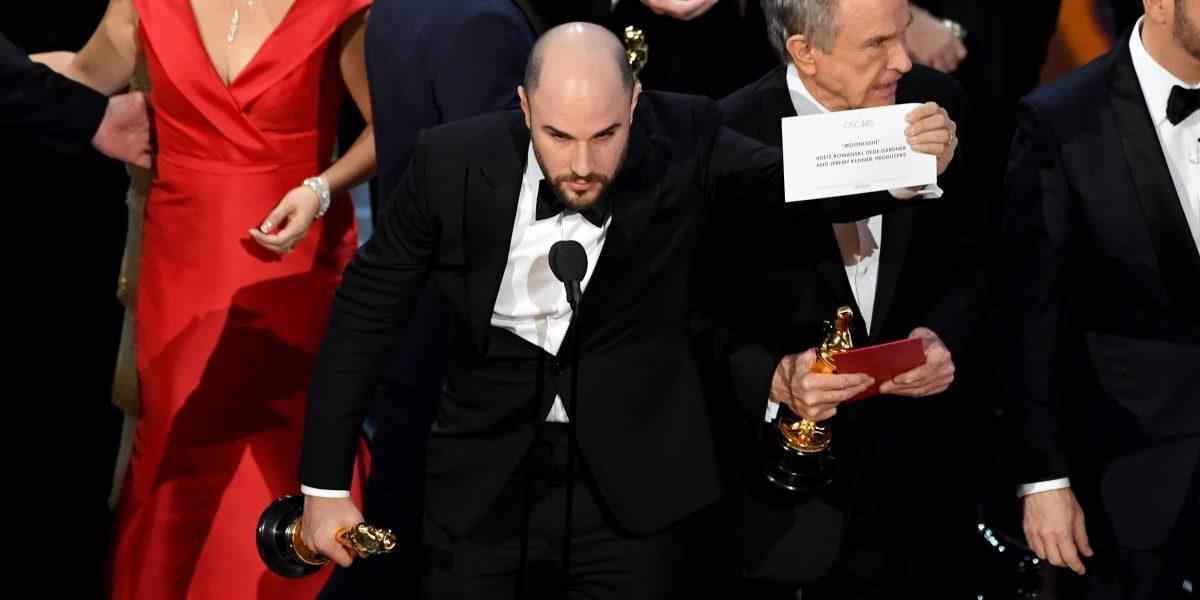 Los Óscar 2017 tuvieron el peor rating desde 2008