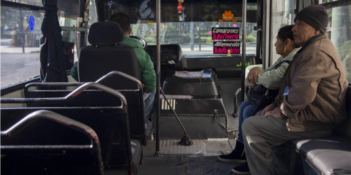Transportistas de la CDMX insisten en aumento de tarifa
