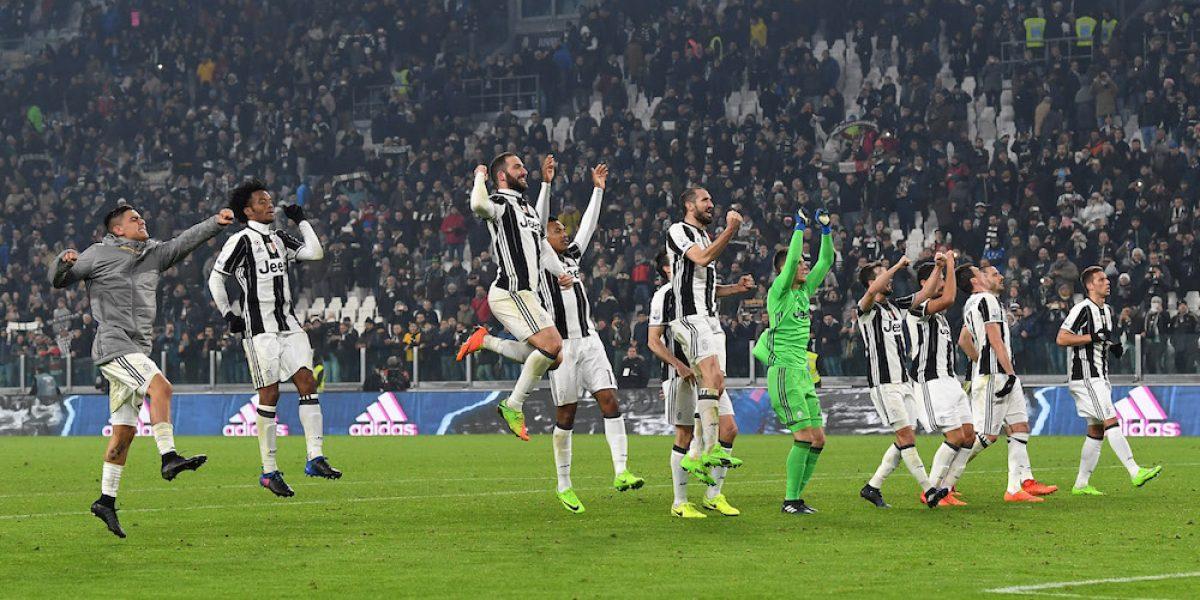 Juventus tiene un pie en la final de la Copa de Italia
