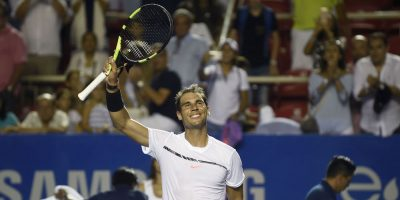 Favoritos Nadal y Cilic dirimirán semifinal de Abierto de México