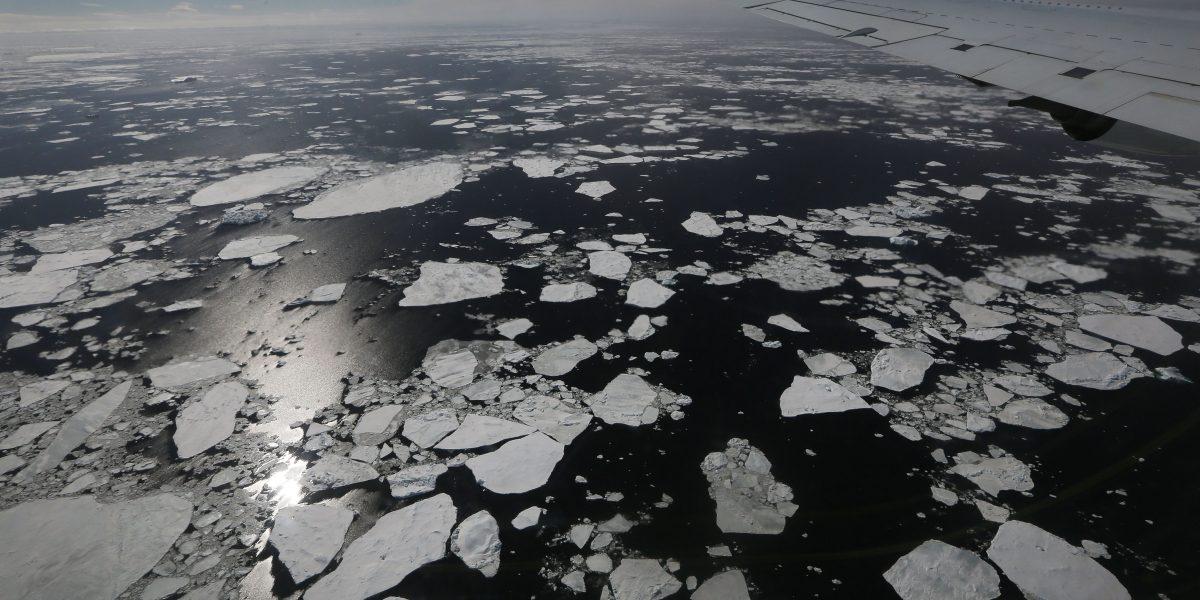 Por primera vez en la historia se siente calor en la Antártida