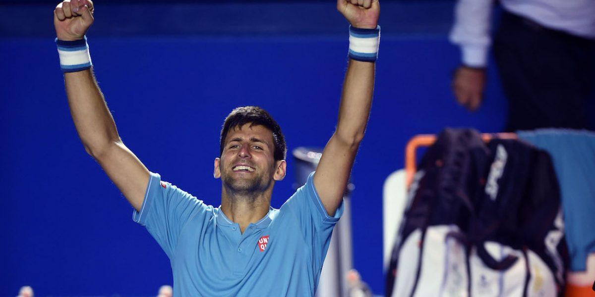 Novak Djokovic, ¿a qué hora juega los Cuartos de Final del Abierto Mexicano de Tenis?
