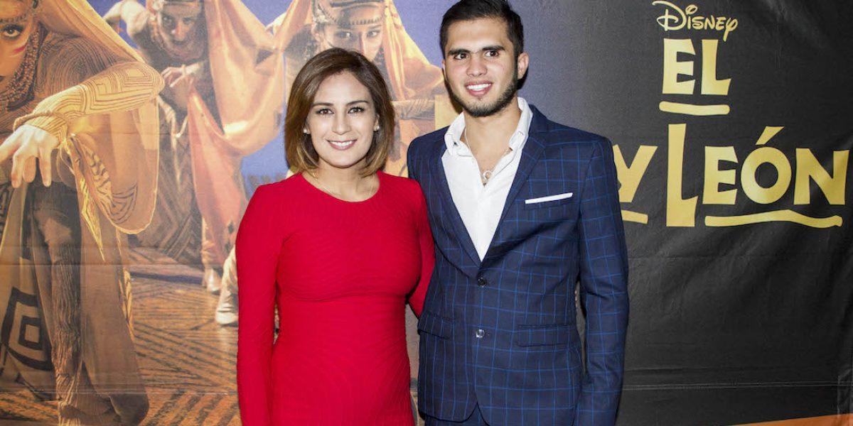 Paola Espinosa e Iván García, en la dulce espera de su primer hijo