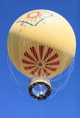 El safari en globo y la tirolesa son dos opciones para recorrerlo desde las alturas. | Dreamstime