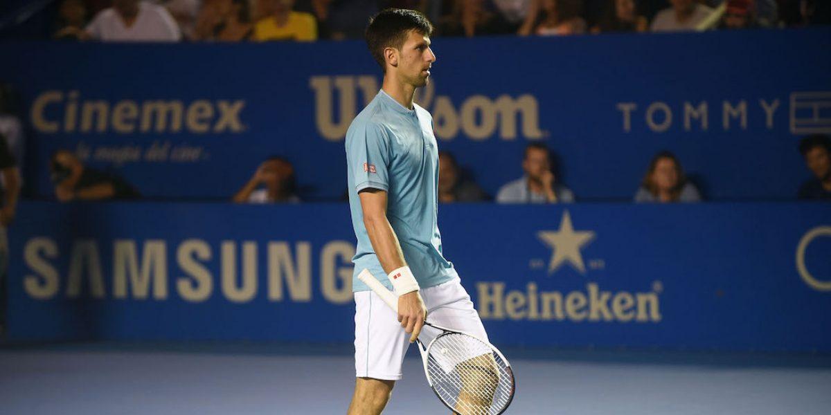 Djokovic deja sin final soñada a Acapulco tras caer en cuartos de final
