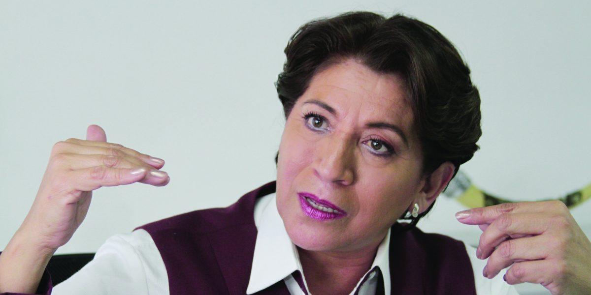 Los traigo nerviosos y eso  me da gusto: Delfina Gómez