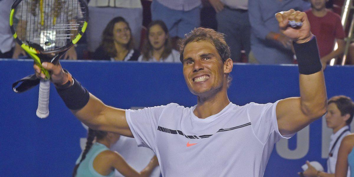 Rafael Nadal vs. Sam Querrey, ¿a qué hora juegan la Final del Abierto Mexicano de Tenis?