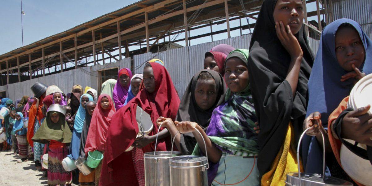 Mueren de hambre 110 personas en los últimos dos días en Somalia
