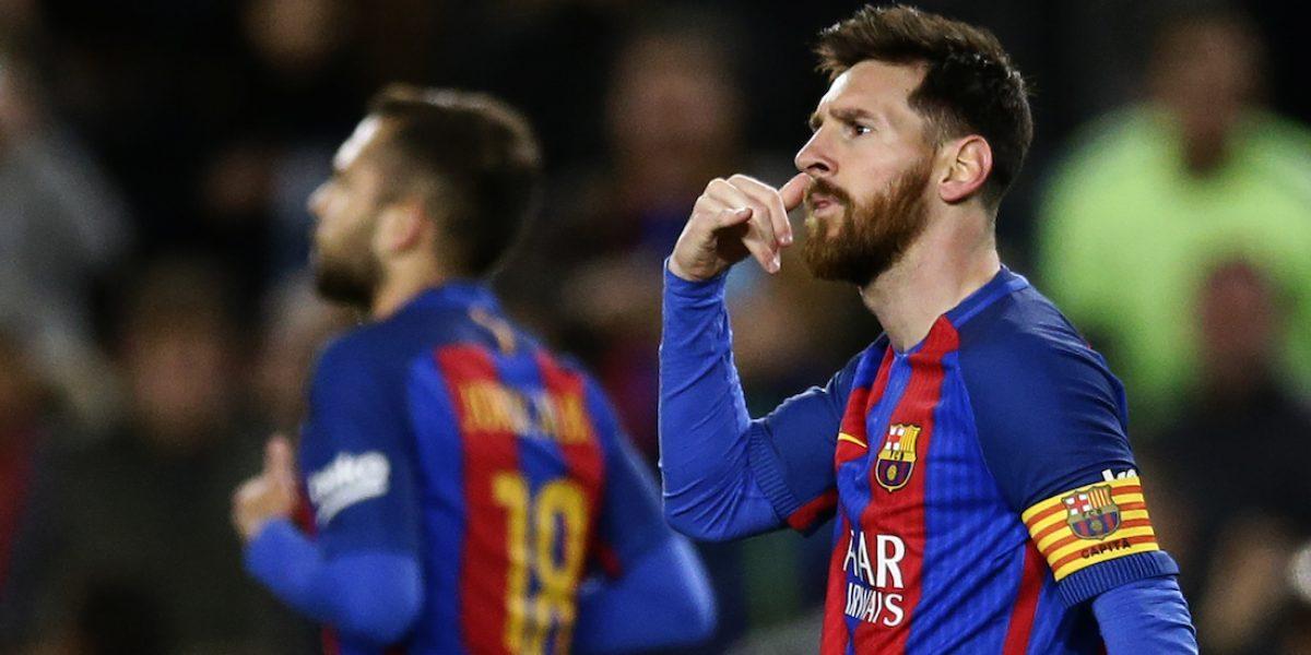 VIDEO: Lionel Messi genera especulaciones con extraño festejo
