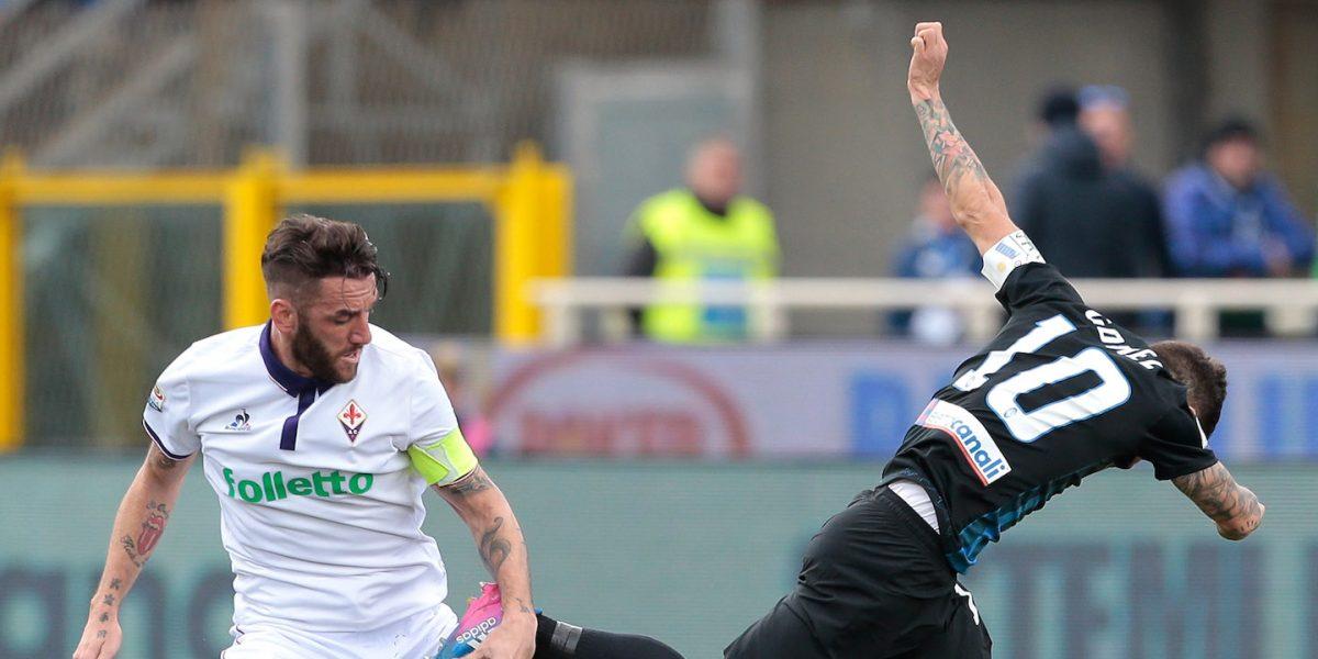 Sin Carlos Salcedo la Fiorentina empata ante Atalanta en la Serie A
