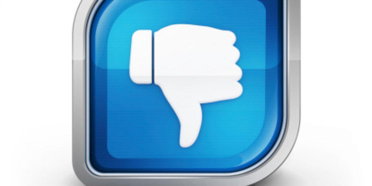 """Botón """"dislike"""" de Facebook, a punto de ser una realidad"""