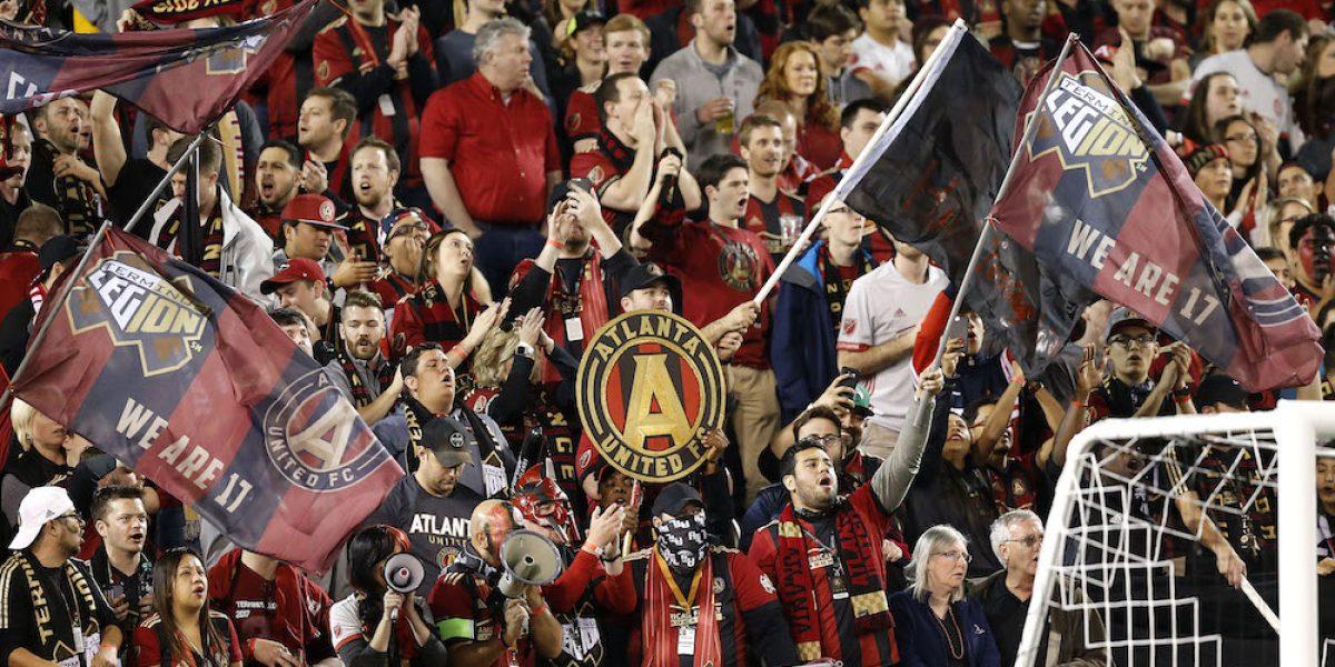 """El """"eh pu…"""" suena en juego del Atlanta United"""