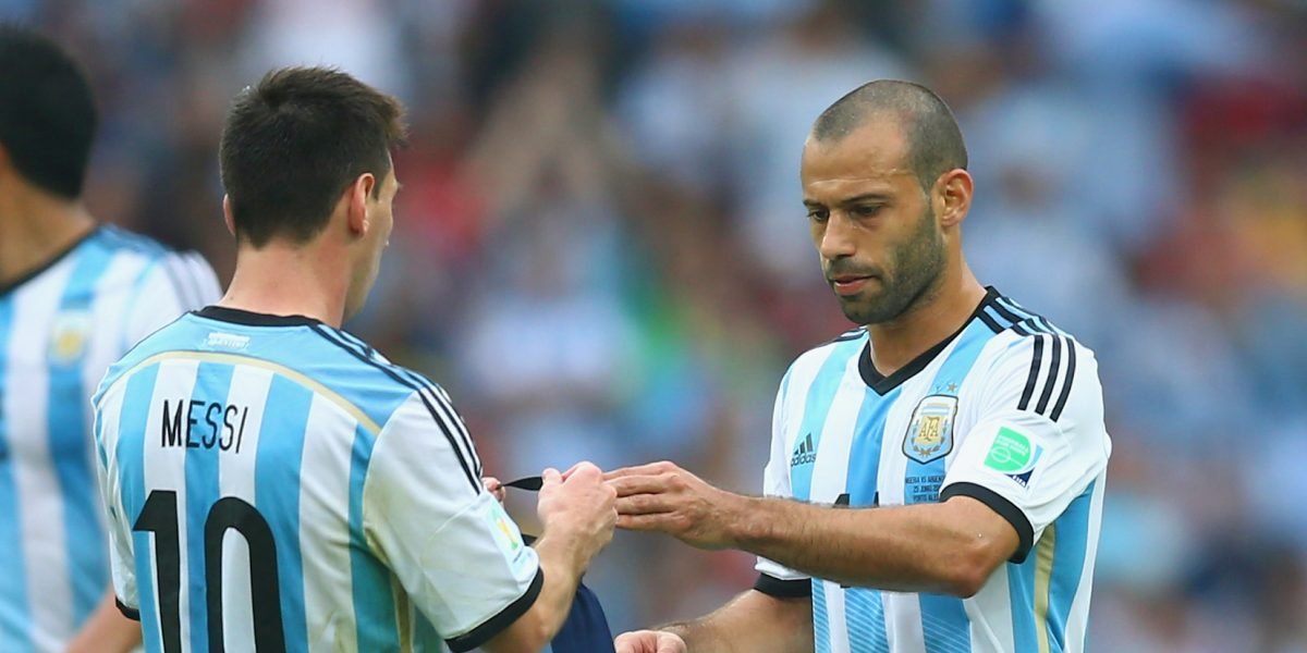 Resultado de imagen para mascherano argentino
