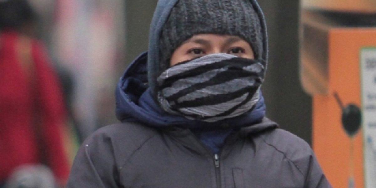 Frente frío 33 traerá bajas temperaturas en el norte del país