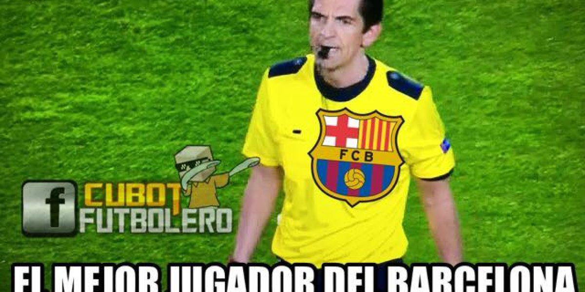 Los mejores memes del Barcelona vs. PGS en la Champions League