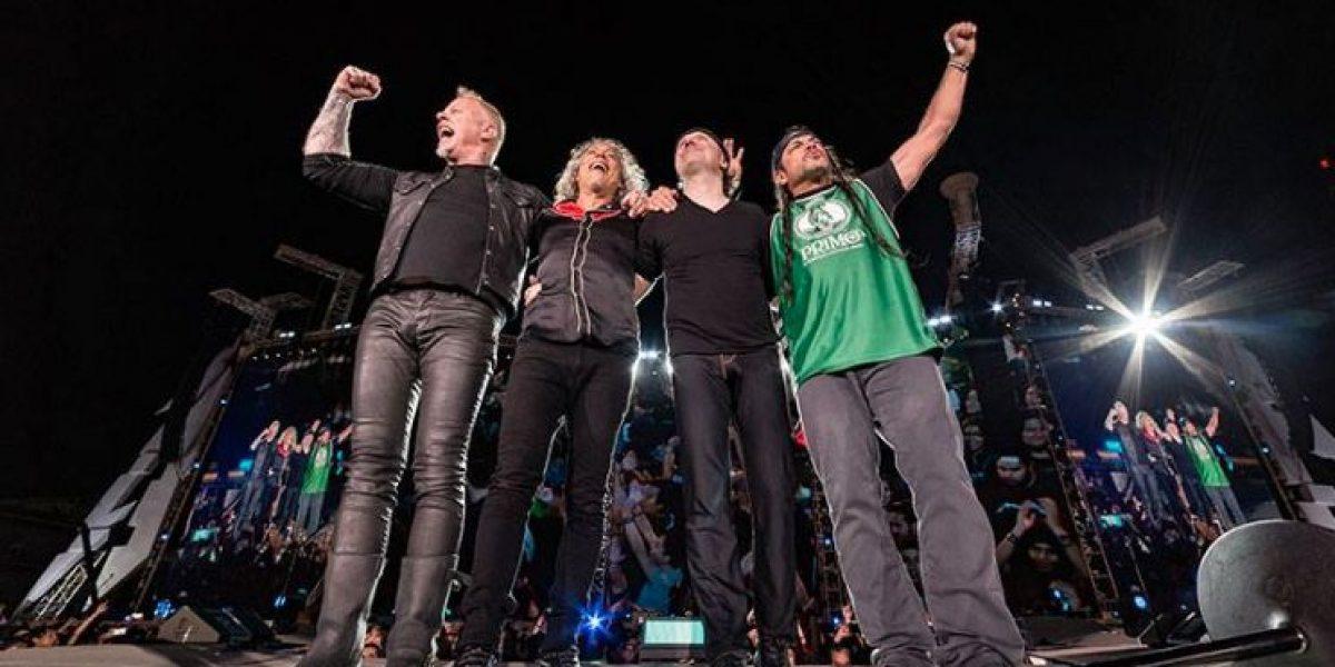 Metallica presume récord por conciertos en Ciudad de México