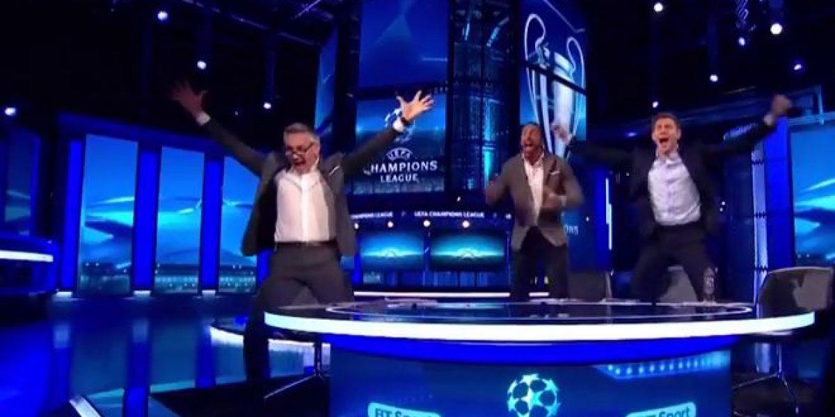 Figuras del futbol inglés celebran con locura la remontada del Barcelona