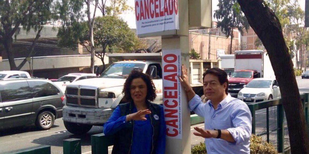 """Senadores """"cancelan"""" cámaras de fotomultas en la CDMX"""
