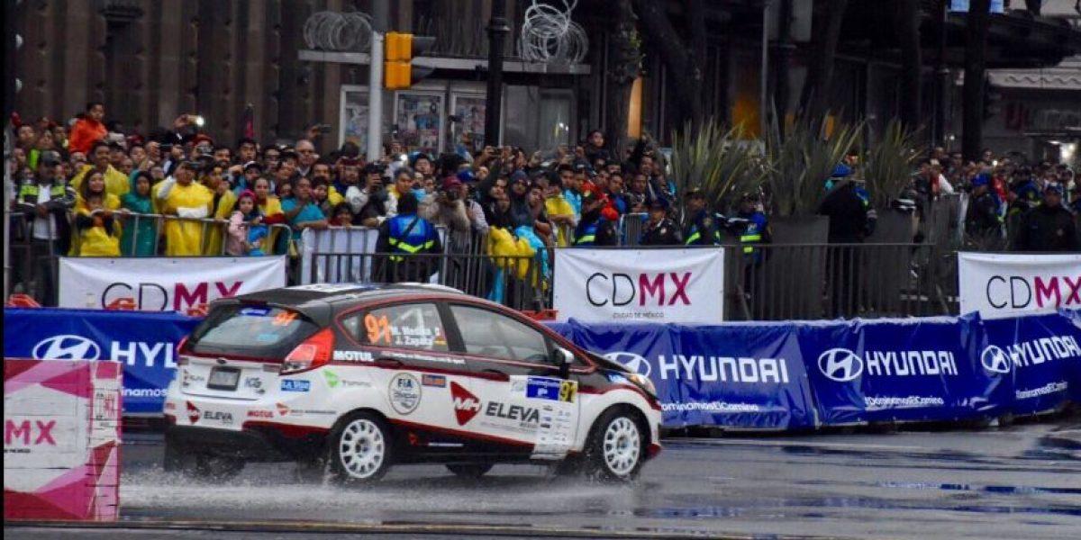 Finlandia conquistó el Zócalo en el Rally WRC de México