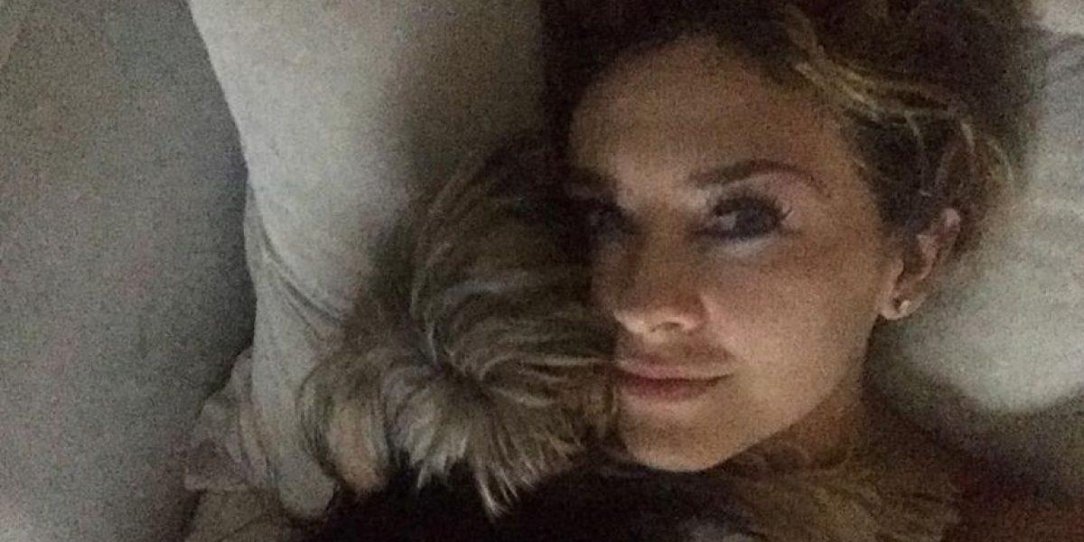 FOTOS Aracely Arámbula y sus selfies desde el gym y la cama