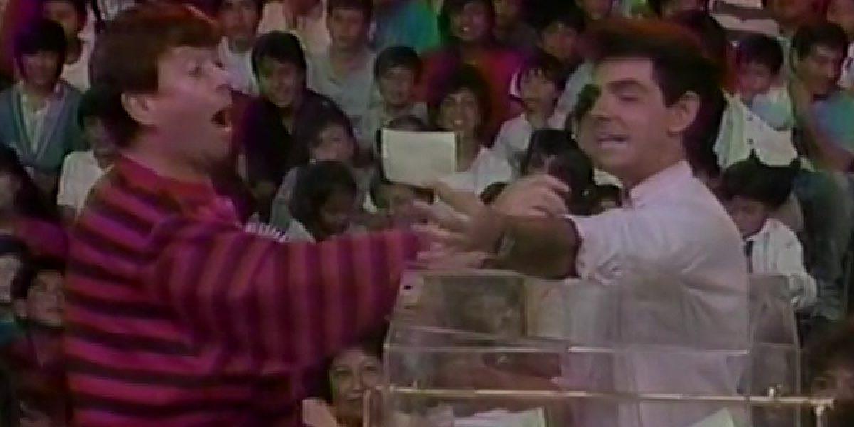 ¿Lo humillaba? Revelan video de cuando Eugenio Derbez fue edecán de Chabelo
