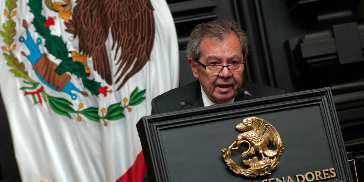 Recursos contra Constitución CDMX, dirigidos desde Presidencia: Muñoz Ledo