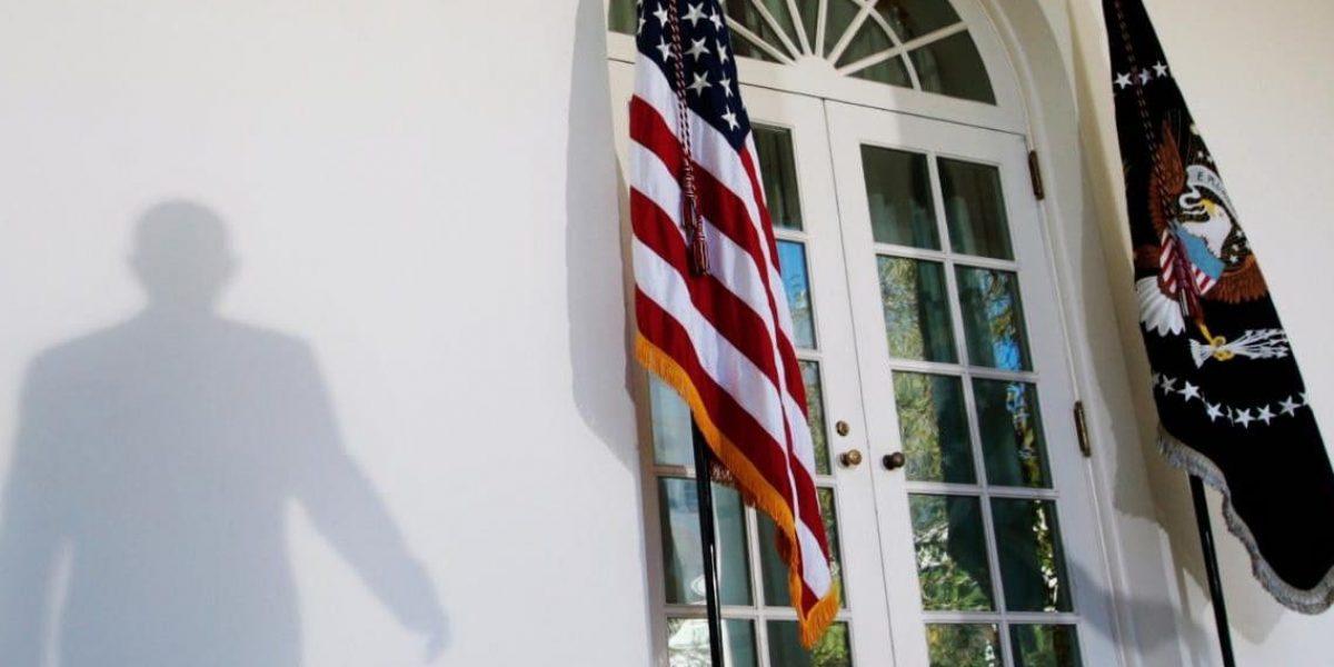 Sujeto intenta acceder a la Casa Blanca