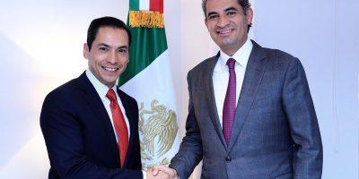 Designa Ochoa Reza a secretarios de Organización
