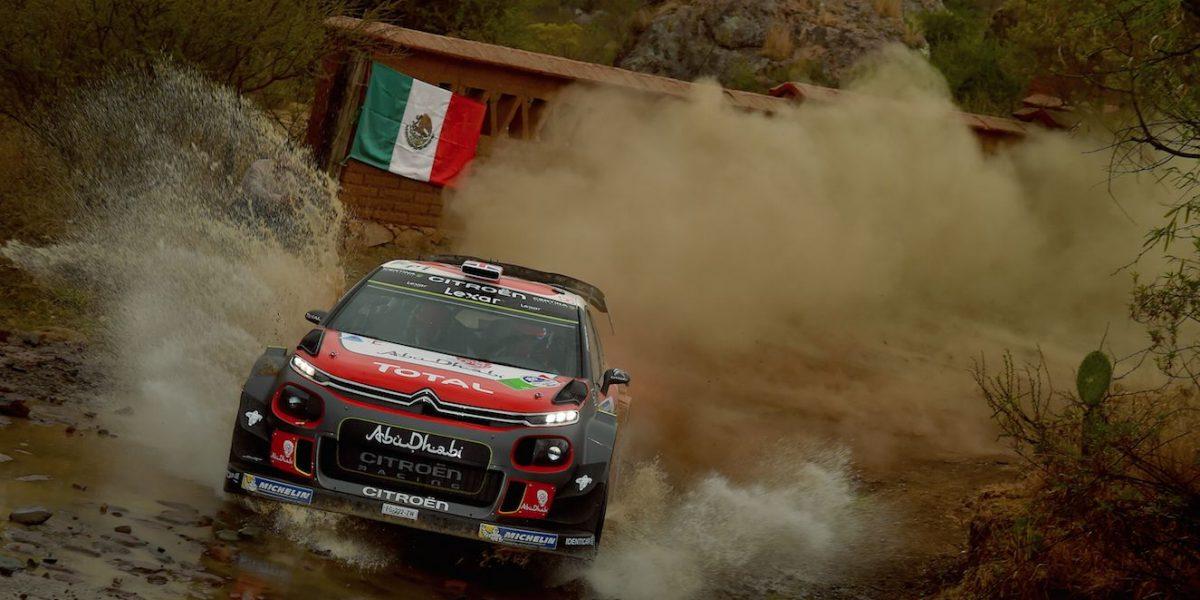 Kris Meeke conquista el Rally de Guanajuato