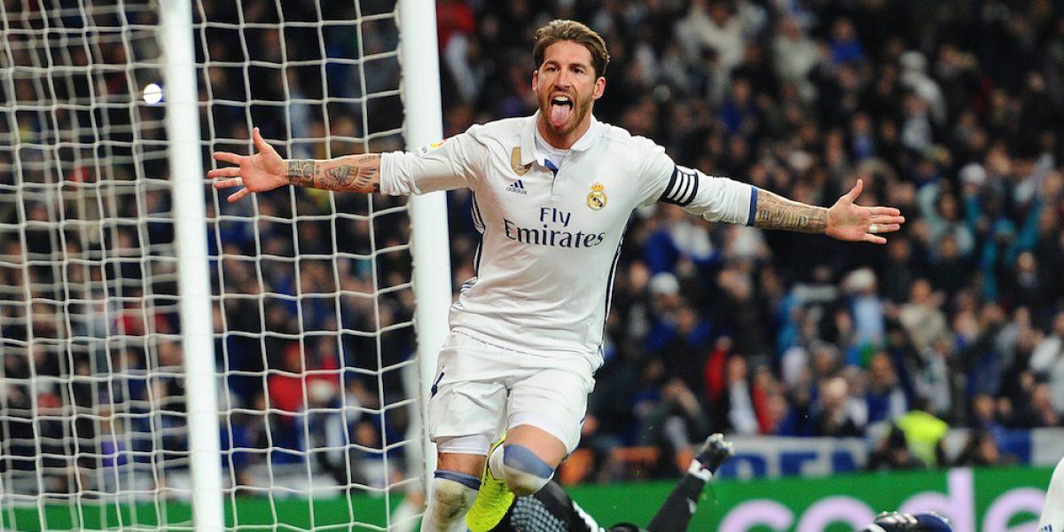 Sergio Ramos le devuelve el liderato de España al Real Madrid