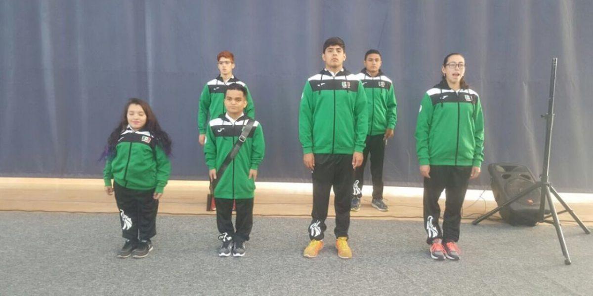 Abanderan delegación mexicana para Juegos Parapanamericanos Juveniles Sao Paulo 2017