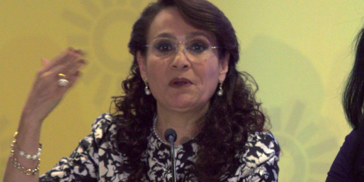 PRD pide reconocer a Dolores Padierna como coordinadora en el Senado